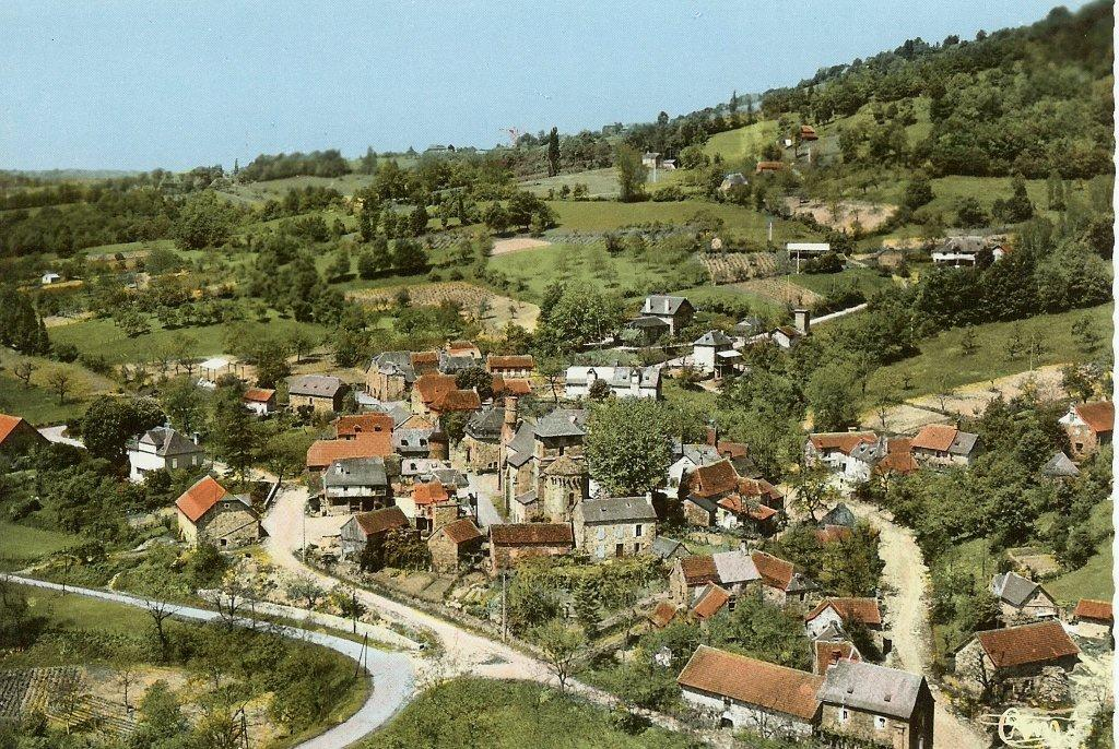 le bourg vers 1960